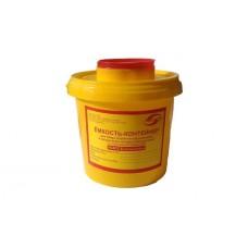 Емкость-контейнер для сбора острого инструментария