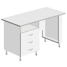 Стол для кабинета врача 1-но тумбовый СКМ-Л-03
