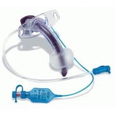 Трахеостомическая трубка Portex Blue Line Ultra «Suctionaid» в наборе с лентой для фиксации трубки на шее 100/860