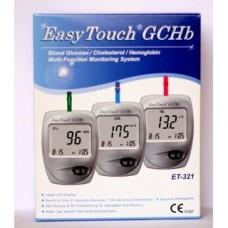 Многофункциональная система EasyTouch GCHb 3 в 1 (контроль глюкозы/холестерина/гемоглобина в крови)