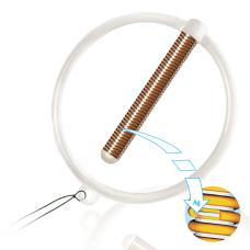 Внутриматочное противозачаточное средство кольцеобразной формы «Юнона Био-Т Ag» тип №2