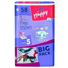 Bella подгузники Baby Happy Junior, для детей весом 12-25кг (58шт.)