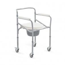Кресло-коляска с санитарным оснащением FS696